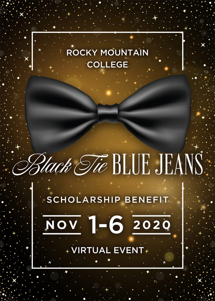 Save the Date - Black Tie Blue Jeans