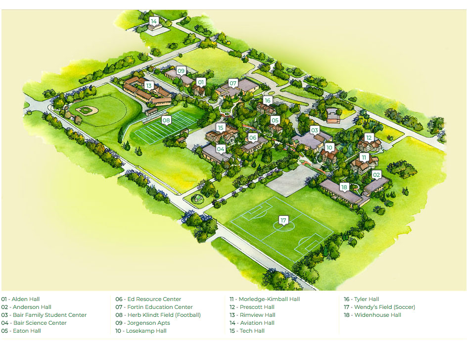 Mountain View College Campus Map.Campus Map Jpg Rmc