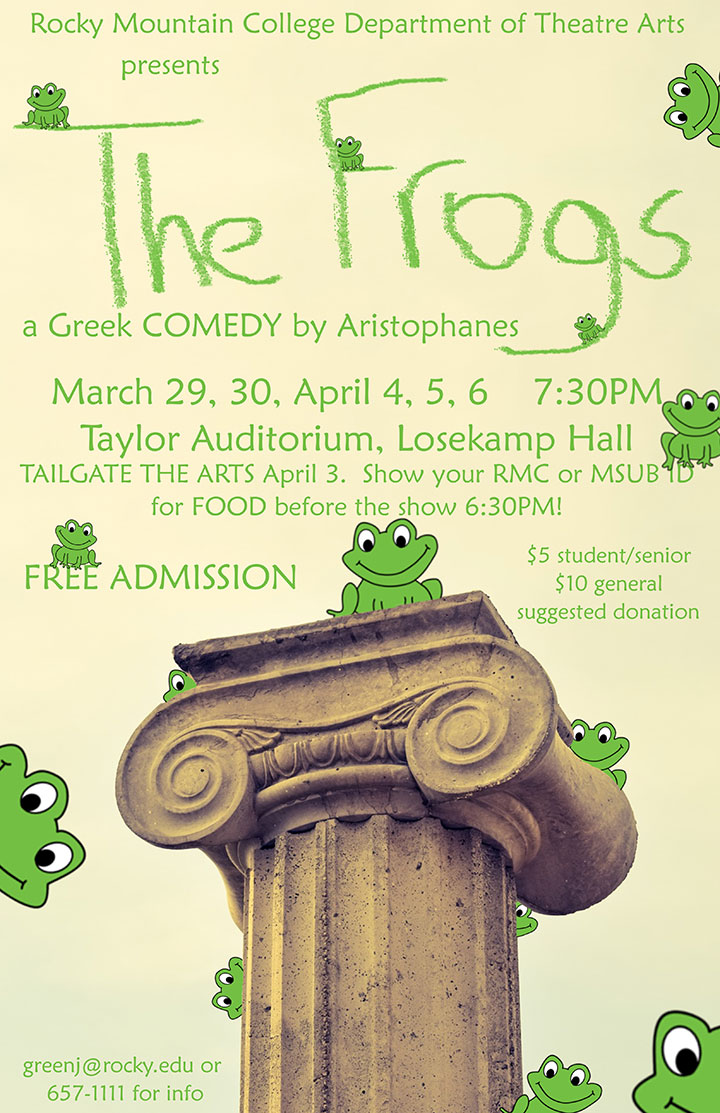 The Frogs - A Greek Comedy