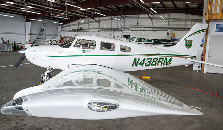 new aviation program plane