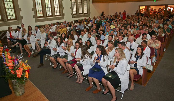 MPAS Program White Coat Ceremony