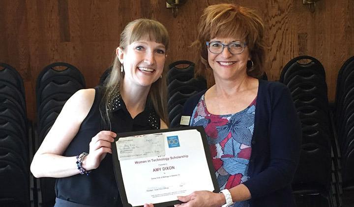 Amy Dixon - Zonta International Award